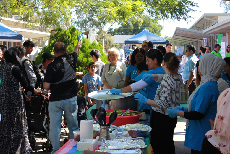 Volunteers played a large part in making ARA's inaugural Health Expo a standout success.