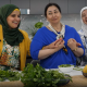 """Three women from the Syrian community dancing to the opening theme of """"Ask Aunty"""""""